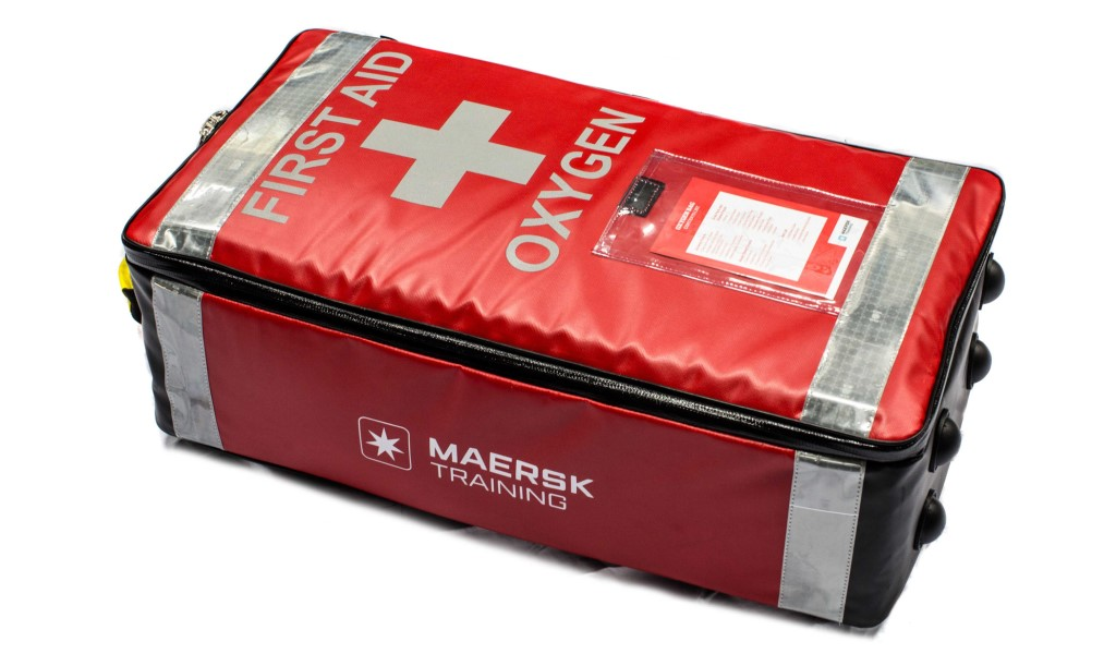 Maersk Training Advanced First Aid trauma pack