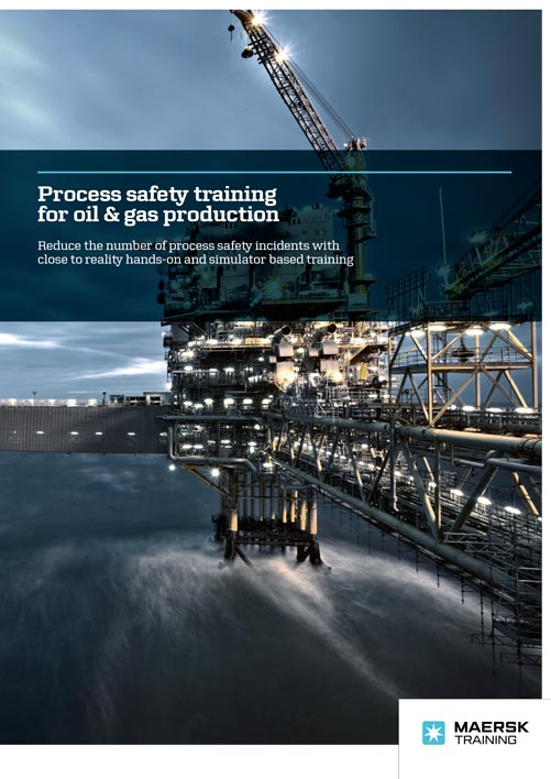 Maersk Training Process safety oil gas production