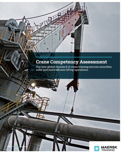 Maersk Training crane competency assessment pdf